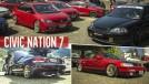 Civic Nation 7: saiba tudo o que rolou no maior encontro de Honda do Brasil!