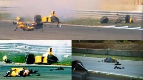 Qual foi o acidente não-fatal mais impressionante e assustador do automobilismo?