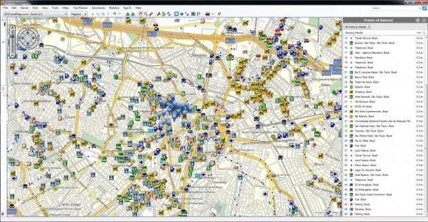 hotel-poi-brazil-gps-map