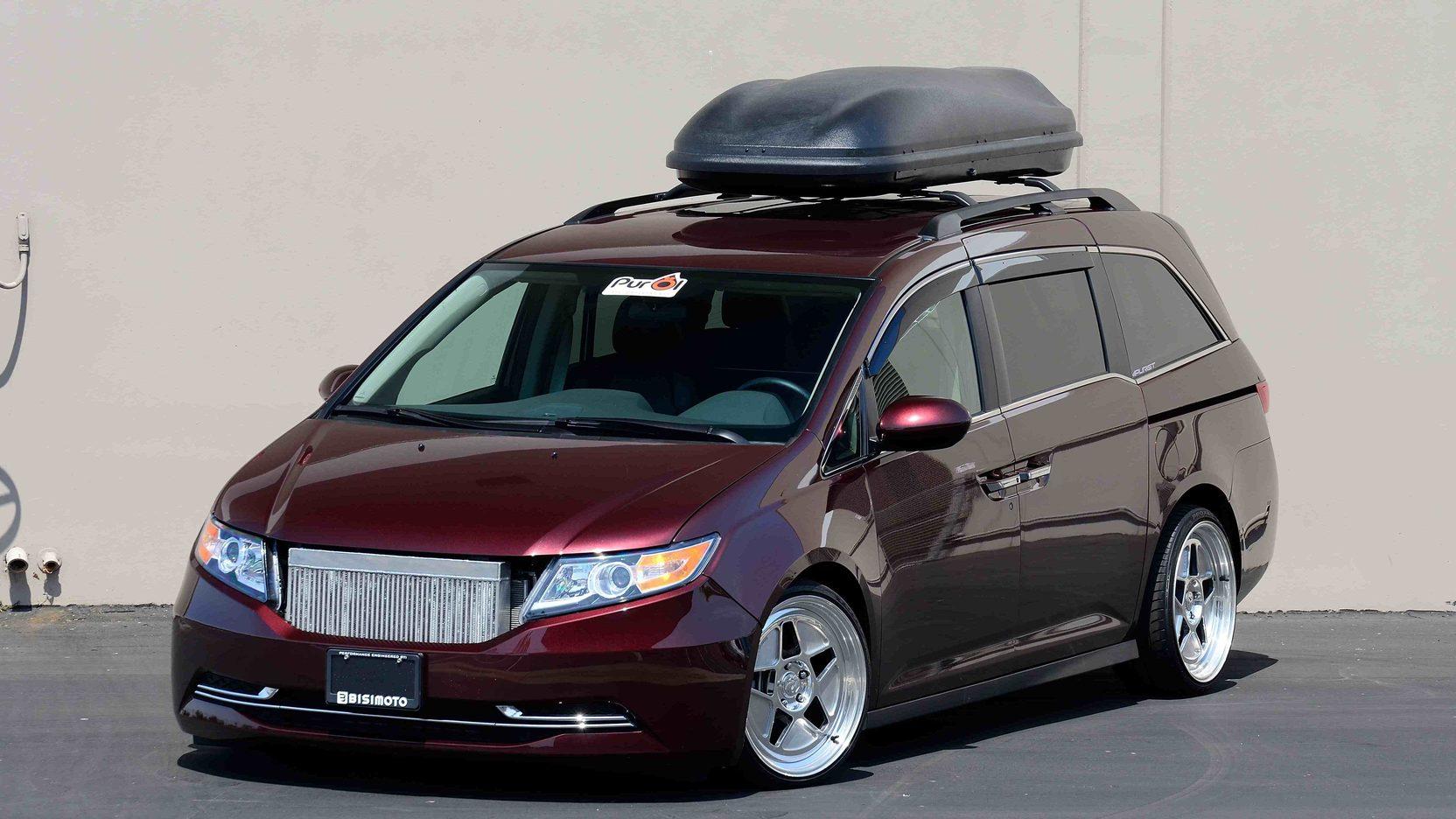 Esta Honda Odyssey 233 Uma Minivan V6 Turbo Com Mais De 1