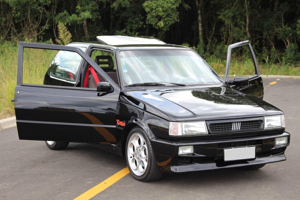 Este Fiat Uno Turbo Preparado Para Render 190 Cv Pode Ser