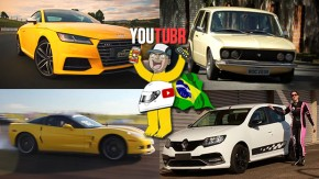 """Audi TTS Coupé no Velo Città, uma """"Brasilia Puma"""" recriada, esportivos e supercarros na pista da Embraer e mais nos melhores vídeos da semana!"""