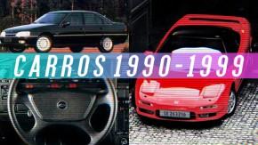 Carros dos anos 90: quais são os modelos que estão se tornando objeto de colecionador?