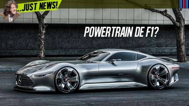 Mercedes-AMG confirma produção de hipercarro com powertrain de F1