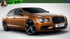 Flying Spur W12 S a 325 km/h: o sedã mais rápido da história da Bentley
