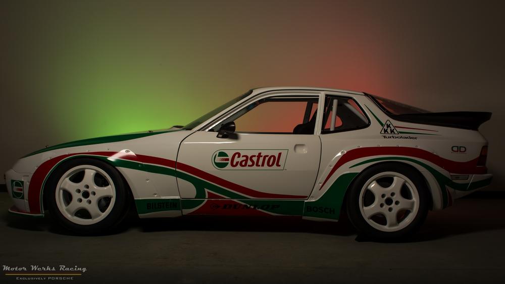 Este Porsche 924 Quot John Player Special Quot Com Motor Audi 1 8