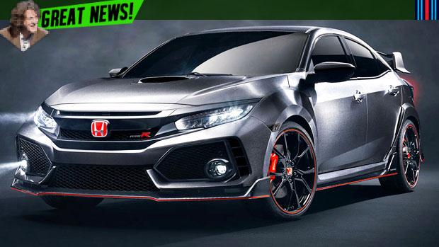 Este será o próximo Honda Civic Type R
