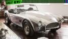 O Shelby Cobra voltará a ser fabricado exatamente como ele era em 1962 – incluindo o motor V8 260!