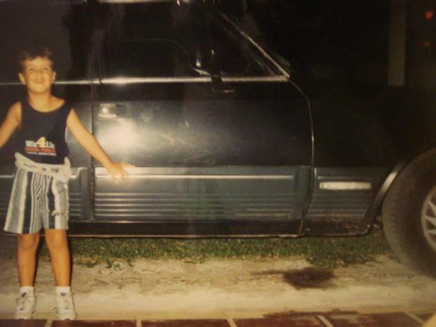 Com Diplomata do meu pai em 1994