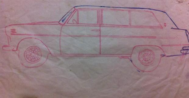 Desenho do meu avô