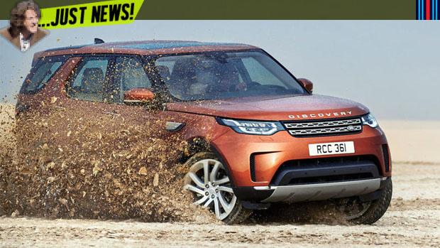 Mais leve, mais luxuoso, mas ainda off-roader: este é o novo Land Rover Discovery
