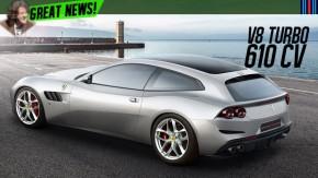 Ferrari GTC4Lusso agora tem um novo motor V8 turbo – (e um T no final do nome)
