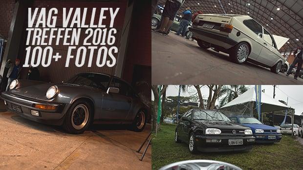 Vag Valley Treffen 2016: mega-galeria do maior encontro de Volkswagen do Sul do Brasil