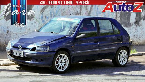 Project Cars #339: começa a preparação do meu Peugeot 106 1.6 aspirado!