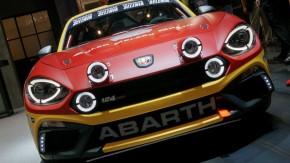 O ronco do Fiat 124 Abarth de rali é mesmo matador – veja seu primeiro vídeo em ação!