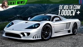Saleen S7: o supercarro americano voltará a ser fabricado com mais de 1.000 cv