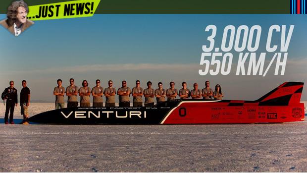 3.000 cv e 550 km/h: este é o carro elétrico mais rápido e mais potente do mundo