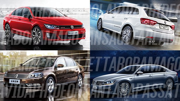 Lavida, Magotan e Jetta que não é Jetta: tentando explicar a confusa linha da Volkswagen na China