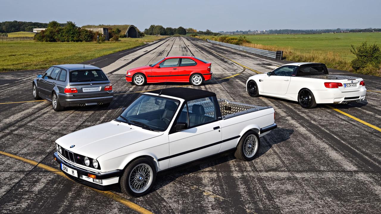 30 anos de BMW M3: os protótipos e conceitos do esportivo que jamais viraram realidade