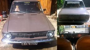 Eis a sua chance de comprar um Toyota Corolla 1968 (com tração traseira!) no Brasil