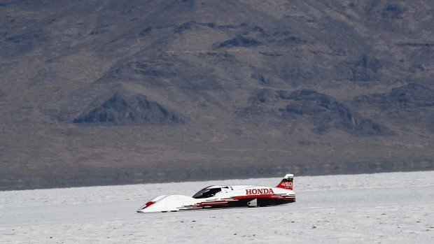 Honda S Dream Streamliner Set Bonneville Records