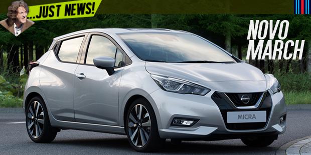 Não parece, mas este é o novo Nissan March (que pode chegar em 2018… ou não)