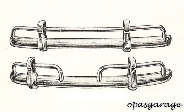 parachoques fusca