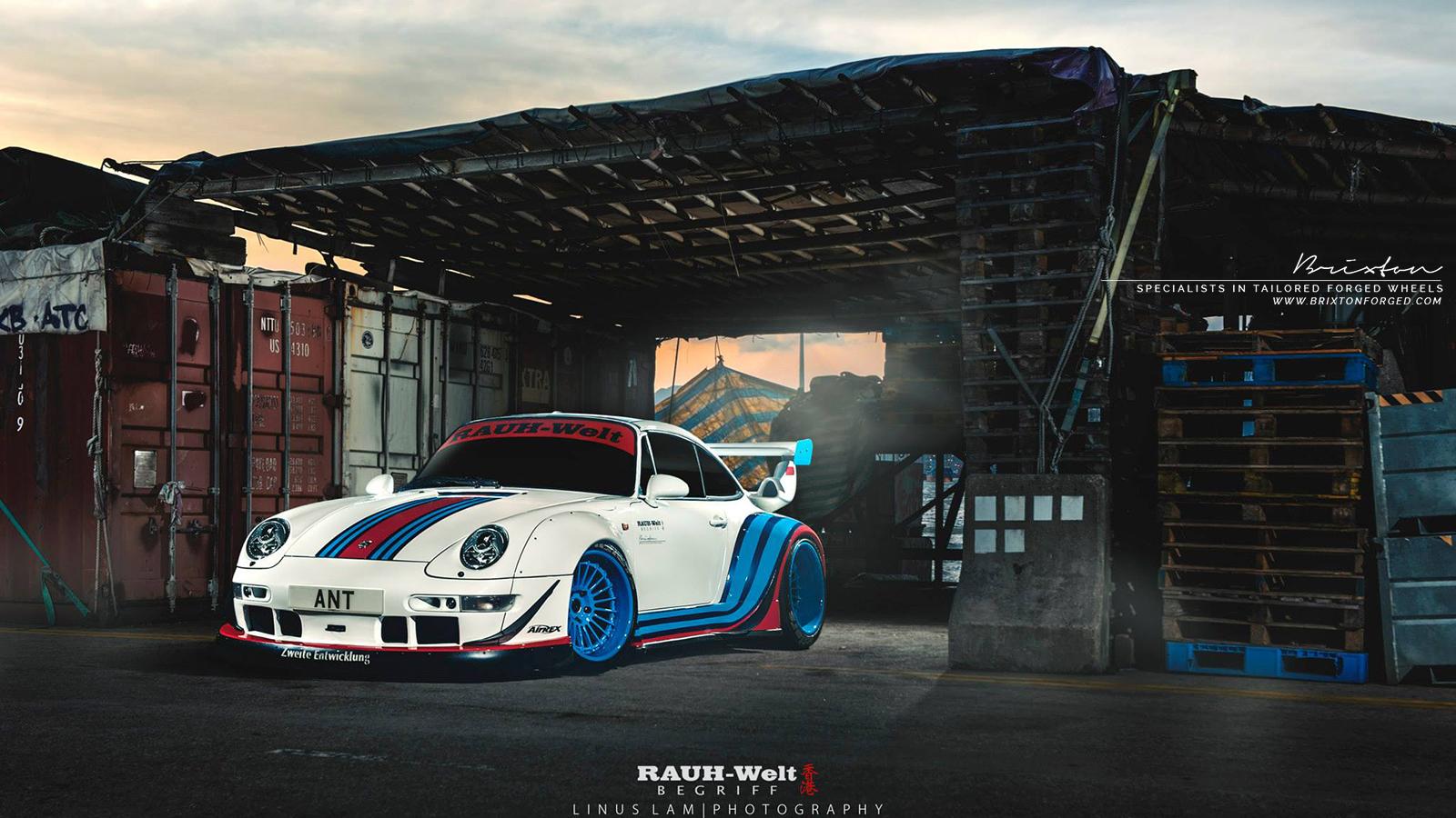Este Porsche 964 Martini Racing Da Rwb 233 Um Belo Tributo