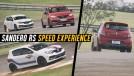 Sandero RS Speed Experience: track day e test-drive no autódromo da Capuava – veja como foi!