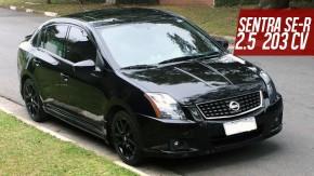O único Nissan Sentra SE-R no Brasil, com motor 2.5 de 203 cv, está à venda!