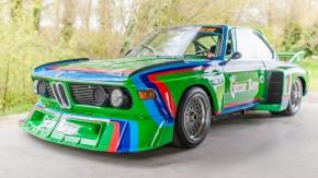 Este BMW 3.5 CSL 1976 da equipe de fábrica é o único carro que queremos comprar hoje