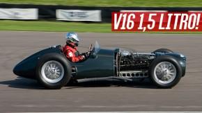 É assim que ronca um motor V16 de 1,5 litro a 12.000 rpm