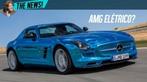 Mercedes-AMG confirma futuro carro 100% elétrico