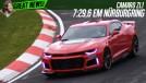 Novo Camaro ZL1 em Nürburgring: mais rápido que o Porsche Carrera GT, Audi R8 V10 e Ferrari 458 Italia