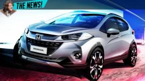 Honda WR-V: novo SUV do Fit será apresentado no Salão do Automóvel