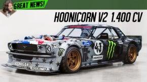 Ken Block de carro novo: o Hoonicorn agora tem um V8 biturbo de 1.420 cv!
