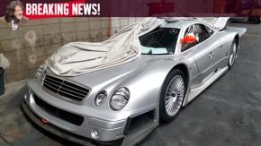 O único Mercedes-Benz CLK GTR do Brasil está indo embora