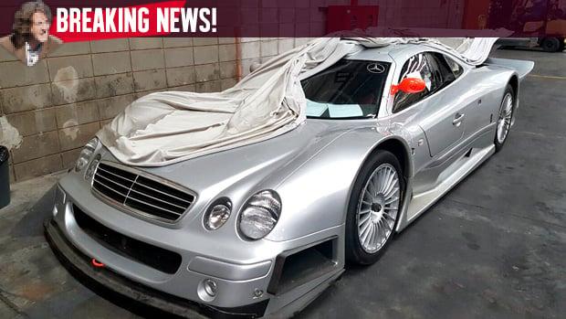 O único Mercedes Benz CLK GTR Do Brasil Está Indo Embora