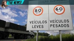 Limites de velocidade também vão mudar a partir de 1º de novembro em todo o Brasil
