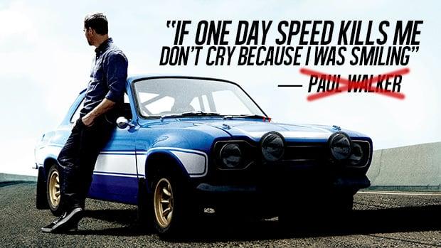 Será Que Paul Walker Disse Mesmo Sua Famosa Frase Sobre Morrer
