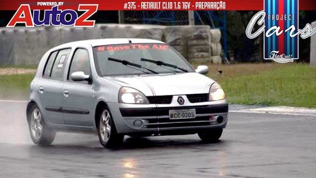 Project Cars #375: o terceiro track day e a tentativa de suicídio do meu Renault Clio 1.6 16v