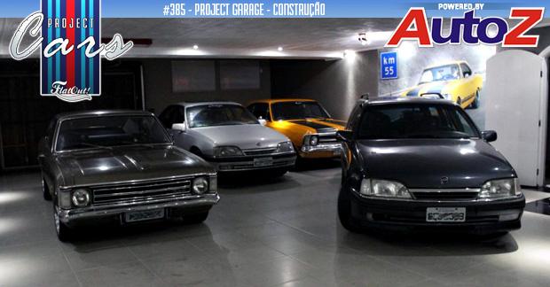 Project Garage: a garagem dos sonhos começa a tomar forma