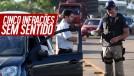Cinco leis de trânsito brasileiras que não fazem sentido
