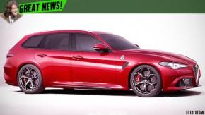 Alfa Romeo Giulia poderá ganhar uma versão perua até 2018