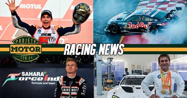Os campeões da MotoGP e DTM, Zanardi vence prova no GT, Hulk aposta em Renault no topo em 2017 e mais!