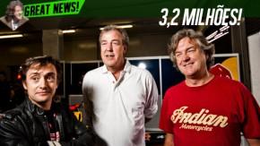 Novo programa de Jeremy Clarkson e cia. terá a cena mais cara da história da TV