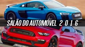 Salão do Automóvel 2016: os carros que você não pode deixar de ver de perto