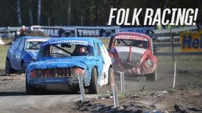 Folk Racing: a categoria de rali mais barata e divertida da Finlândia – onde todos os carros estão à venda!