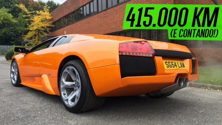 Este cara dirige seu Lamborghini Murciélago diariamente – e já rodou 415.000 km com ele!