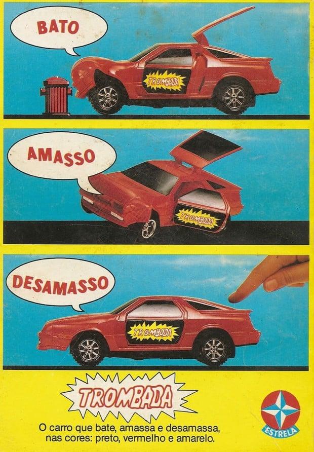 propaganda brinquedo trombada estrela 1987
